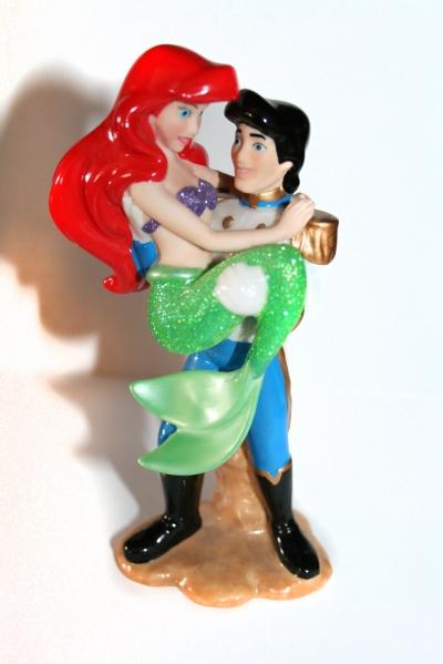 Фарфоровая скульптура Walt Disney «Русалочка и принц»