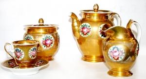 Чайный сервиз, завод братьев Батениных