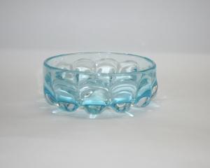 Конфетница из купоросного стекла