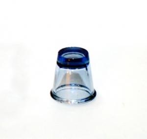 Наперсток из синего стекла