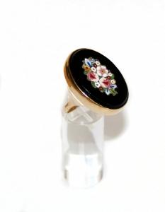 кольцо с мозаикой