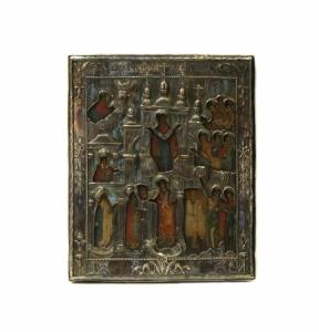 Праздничная икона «Покрова Пресвятой Богородицы».