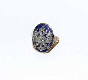 Кольцо с двуглавым орлом