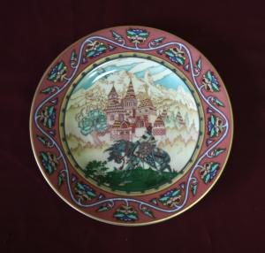 Пара настенных тарелок