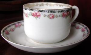 Чайная пара фабрики «Коминтерн»