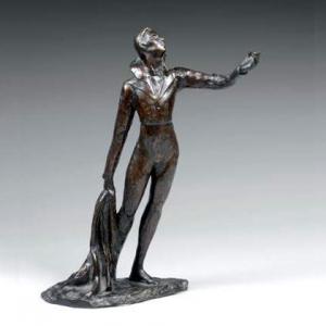 Беклемишев В. А. ( 1861-1919 гг.) бронзовая скульптура