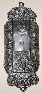Футляр с дверцами для мезузы