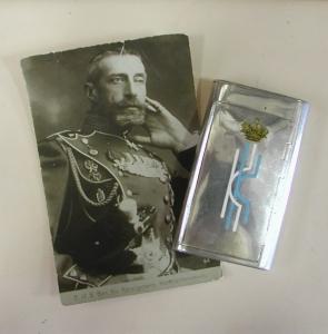Портсигар К.К. Великого Князя Константина Константиновича Романова