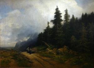 Рацер Хельмут (Ratzer Hellmuth) «Заготовка дров»