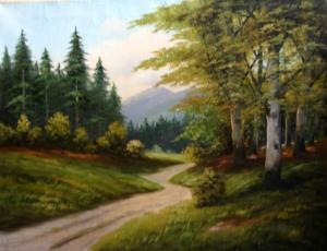 Бернард «Извилистая дорога в лесу»