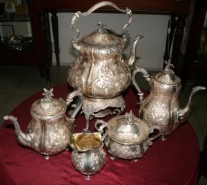 Сервиз для чая и  кофе  из 5  предметов