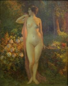 Жан Боден «Обнаженная в саду»