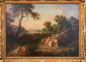 Ян ван Хейсум  «Детство Юпитера. Аркадский пейзаж»