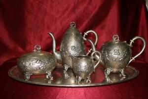Сервиз чайный в стиле Ар-нуво
