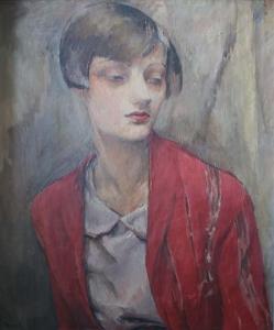 Адольф Милич «Портрет одной женщины»