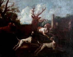 Роос Иоганн Мельхиор (Roos Johann Melhior) «Охота на оленя»