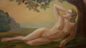 Хасселвандер М. (Hasslwander M.) «На лужайке, в лучах солнца»