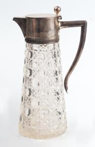 Серебряный  массивный кувшин для вина фирма братьев Грачевых