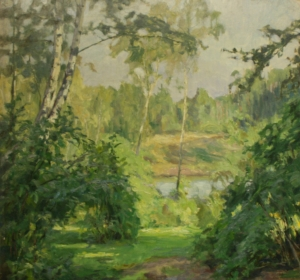 Мессершмид Курт «Тропинка к озеру»