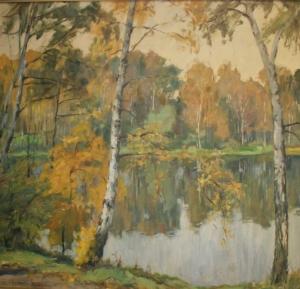 Мессершмид Курт «Осень. Озеро»