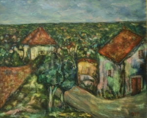 Царфин (Зарфин) Файбич-Шрага  «Улица в деревне»
