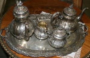 Сервиз чайный в стиле бидермайер