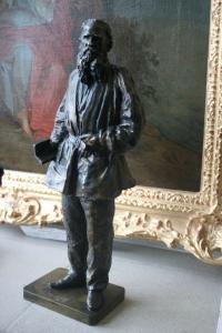 Гинцбург И. Я. «Лев Толстой с книгой».