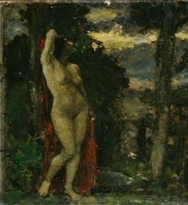 Неизвестный художник «Обнаженная»