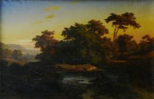 Неизвестный художник «Пейзаж»