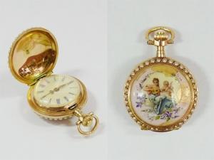 Часы карманные «Муза»
