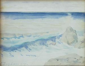 Якобсон Л. «Морской пейзаж»