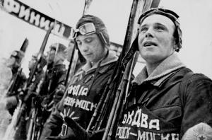Игнатович, Борис Всеволодович «Лыжники возле финиша»
