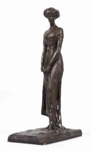 Скульптура «Девушка»