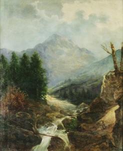 Джернитц В. «Высокогорный ручей»
