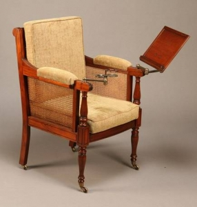 Библиотечный стул Британского колониального стиля
