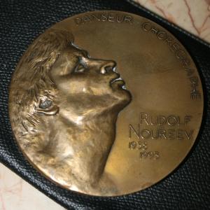Медаль Рудольф Нуриев