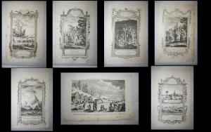 Коллекция из 7 гравюр.