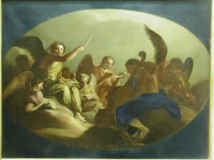 Неизвестный художник «Небесный концерт»