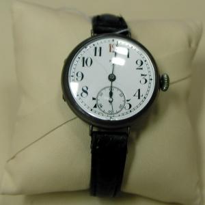 Часы «M.E.A.» с кожаным ремнем