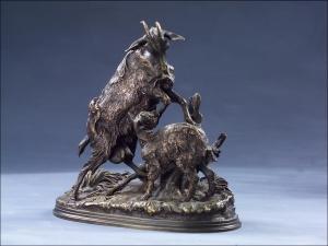 Мене Пьер-Жюль, скульптура