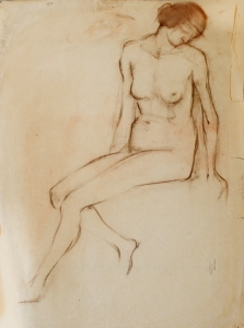 Академические рисунки В.В. Лебедева (1891-1967 гг.)