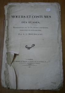 A.C. Houbigant. Moeurs et costumes des Russes.